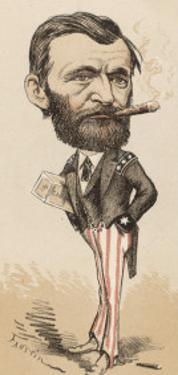 Ulysses S Grant Caricature of the American General and President