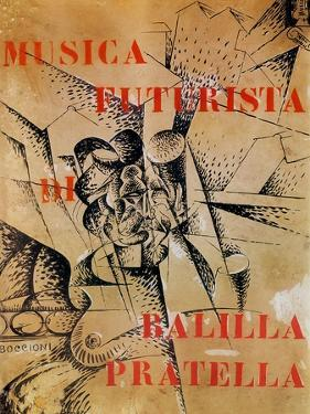Design for the Cover of 'Musica Futurista' by Francesco Balilla Pratella (1880-1955), 1912 by Umberto Boccioni