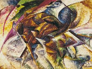 Dynamism of a Cyclist, 1913 by Umberto Boccioni