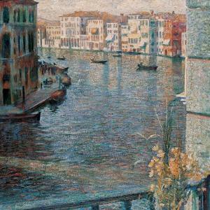 Grand Canal in Venice by Umberto Boccioni
