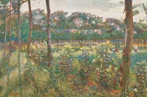 Lombard Countryside, 1908 by Umberto Boccioni