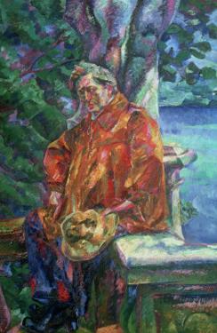 Portrait of Ferruccio Busoni 1916 by Umberto Boccioni