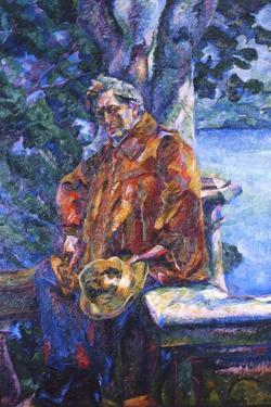 Portrait of Ferruccio Busoni, 1916 by Umberto Boccioni