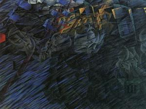 Stage of Mind: Those Who Go by Umberto Boccioni