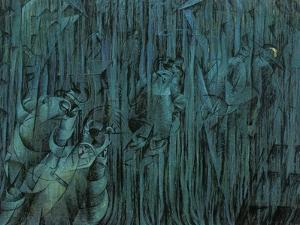Stage of Mind: Those Who Stay by Umberto Boccioni