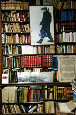 Umberto Saba Antiquarian Bookshop in Trieste, 1914 Post, 20th Century