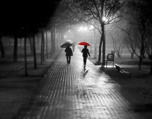 Umbrella Walk