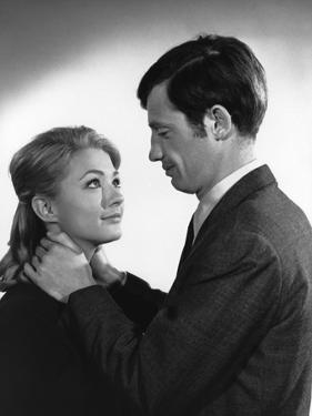 Un Nomme La Rocca by Jean Becker with Jean-Paul Belmondo and Christine Kaufmann, 1961 (b/w photo)