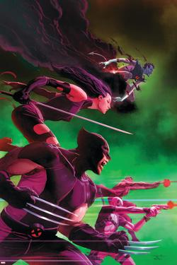 Uncanny X-Force No. 25: Wolverine, Psylocke, Deadpool, Nightcrawler, Fantomax