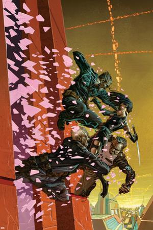 Uncanny X-Force No. 29: Psylocke, Wolverine, Punisher, Cable