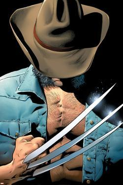 Uncanny X-Men No.448 Cover: Logan and Wolverine Fighting