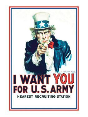 Uncle Sam: I Want You For U.S. Army - Modern
