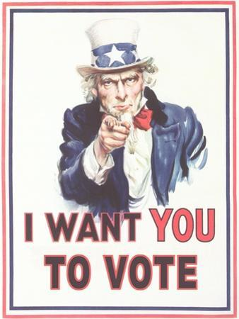 Uncle Sam, I Want You to Vote