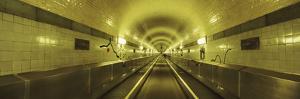 Underground Walkway, Old Elbe Tunnel, Hamburg, Germany