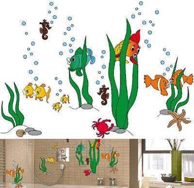 Underwater World 79 Wall Stickers