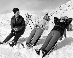 Man Skier by Underwood
