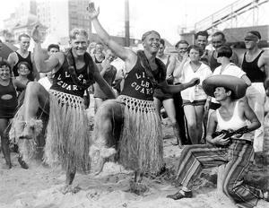 Men Hula Dancing by Underwood