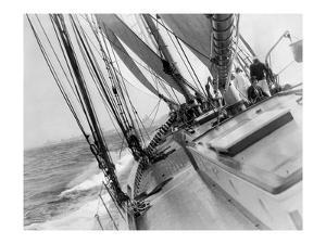 Sail Boat 1 by Underwood