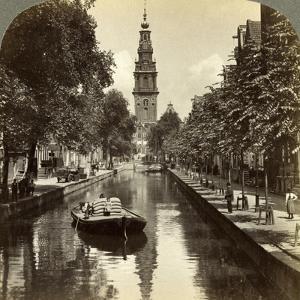 Canal, Amsterdam, Netherlands by Underwood & Underwood