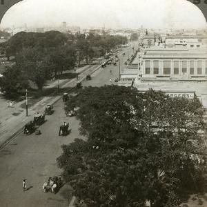 Chowringhee Road, Calcutta, India, C1900s by Underwood & Underwood