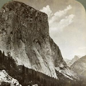 El Capitan and Half Dome, Yosemite Valley, California, USA, 1902 by Underwood & Underwood