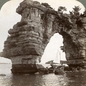 Rock Arch in Matsushima Bay, South-East Japan, 1904 by Underwood & Underwood