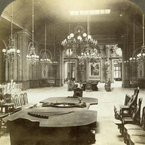 Roulette Salon, Monte Carlo, Monaco by Underwood & Underwood