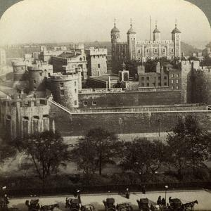 Tower of London, C Late 19th Century by Underwood & Underwood