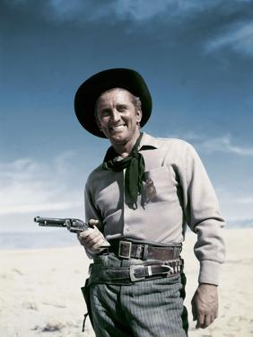 Une corde pour te pendre ALONG THE GREAT DIVIDE by Raoul Walsh with Kirk Douglas, 1951 (photo)