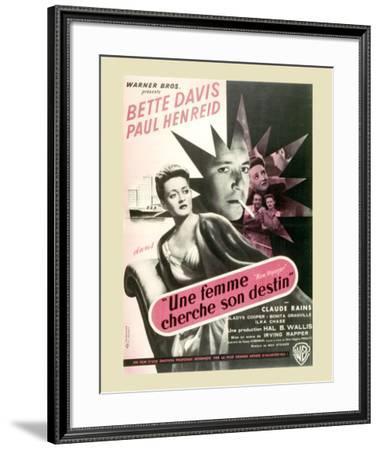 Une Femme Cherche son Destin--Framed Art Print