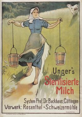 Ungers Milk Germany 1898