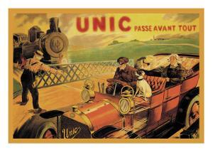 UNIC, Racing Across Train Tracks
