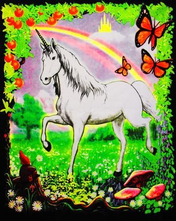 Unicorn - Opticz Cloth Fabric Poster