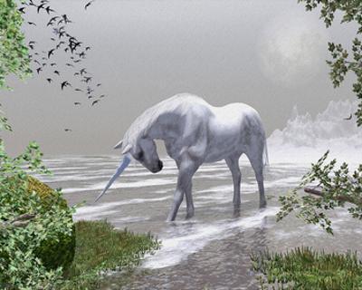 Unicorn Spring Snow Mountains