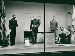 Uniforms in Store Window