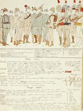 Uniforms of Royal Corp of Colonial Troops of Kingdom of Italy in Eritrea
