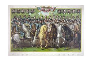 Union and Confederate Generals and Statesmen of the Civil War