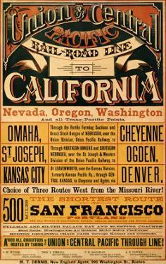 Union Central Pacific, California