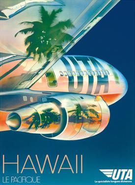 Union de Transports Aériens (UTA) - Hawaii, Le Pacifique (The Pacific)