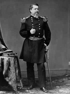 Union General Winfield Scott Hancock in Dress Uniform
