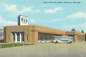 Union Pacific Bus Depot, Cheyenne