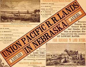 Union Pacific, Nebraska Railroad Land