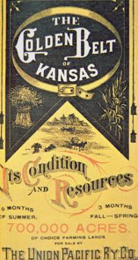 Union Pacific Railroad Poster, c.1880