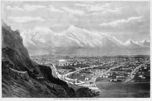 Union Pacific Railroad--Salt Lake City, Utah.