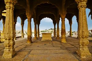 Architectural Detail of a Fort, Jaisalmer Fort, Jaisalmer, Rajasthan, India by uniquely india
