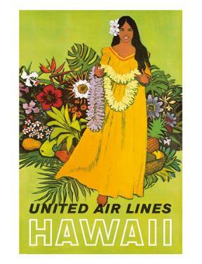 United Air Lines, Hawaii, The Lei Offering