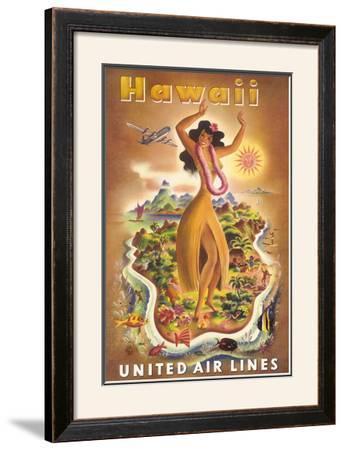United Airlines, Hula Dancer