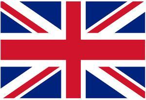 United Kingdom National Union Jack Flag Poster Print