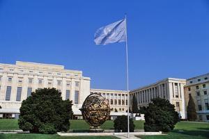 United Nations Building, 1931-1938, Geneva, Canton of Geneva, Switzerland, 20th Century