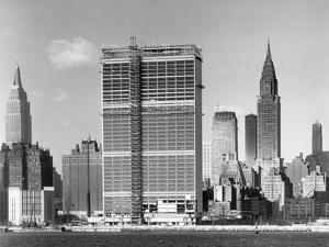 United Nations Building under Construction